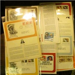 1279 _ (8) First Day Covers, Pony Express (1960), Indian Headdresses (1990), Buffalo Soldiers (1994)