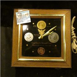 1410 _ Battery Powerer Clock First Legally Minted Coins United States of America, 1793 Large Cent, 1