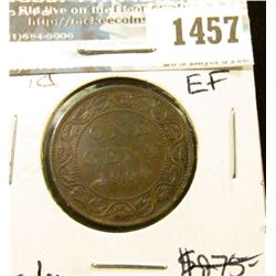 1457 _ 1900 Canada Large Cent, EF.