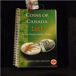 1486 _ Coins of Canada 2003 by J.A. Haxby and R.C. Willey.