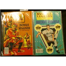 """1493 _ """"Unauthorized and Proud of it. Baseball Legends Comics Honus Wagner """"The Flying Dutchman"""", ar"""