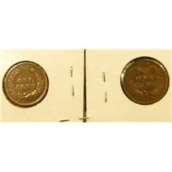 1505 _ 1900 And 1907 Indian Head Cents With Full Liberty