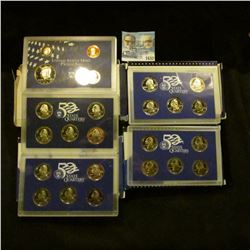 1632 _ 2000 Proof State Quarters, 2001 Proof State Quarters, 2006 Proof State Quarters, And 1999 Pro