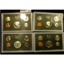 1635 _ 1968, 1970, 1971, And 1972 Proof Sets