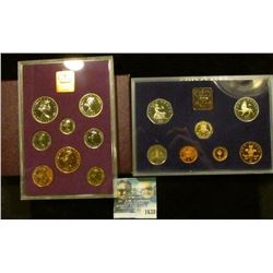 1638 _ 1970 And 1982 Proof Sets From Great Britain And Northern Ireland