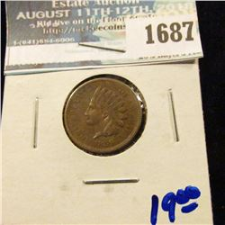 1687 _ 1859-Cn Indian Head Cent With All The Letters In Liberty Visible