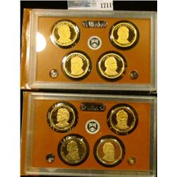 1711 _ 2011 And 2012 Presidential Proof Sets.  These Start With Andrew Johnson And End With Grover C