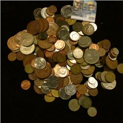 1755 _ Bag Of Mixed Foreign Coins