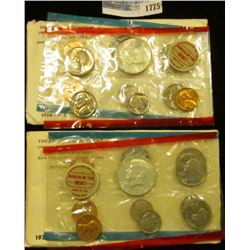 1775 _ 1968 And 1970 Mint Sets.  The 1970 Set Has The 1970-D Kennedy Half That Books For Around $20