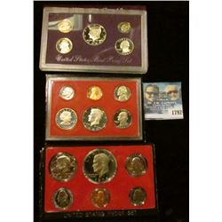1792 _ 1974, 1980, And 1989 Proof Sets