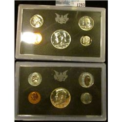 1793 _ 1968 & 1970 Proof Sets.  The Half Dollars In Both Sets Are Silver