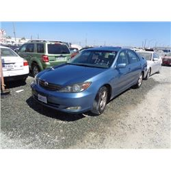 TOYOTA CAMRY 2002 APP  DUP/T-DON