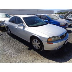 LINCOLN LS 2002 T-DONATION