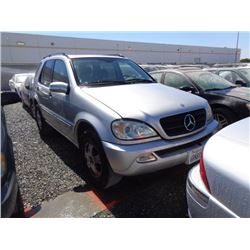 MERCEDES ML320 2002 T-DONATION