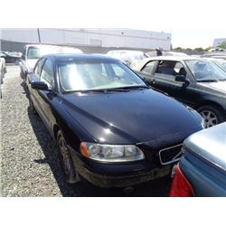 VOLVO S60 2006 APP  DUP/T-DON