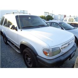 FORD EXPLORER 1999 L/S-DONATION