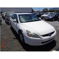 HONDA ACCORD 2005 T-DONATION