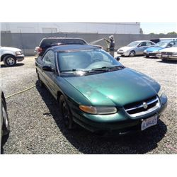 CHRYSLER SEBRING 1998 T-DONATION