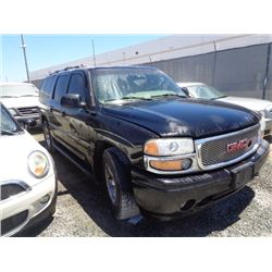 GMC YUKON 2001 T-DONATION