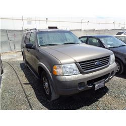 FORD EXPLORER 2002 T-DONATION