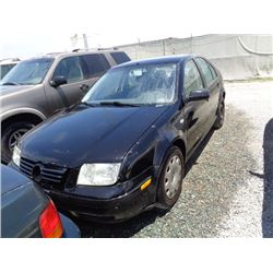 VW JETTA 2001 O/S T-DONATION