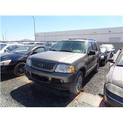 FORD EXPLORER 2003 APP  DUP/T-DON
