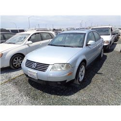 VW PASSAT 2004 T-DONATION