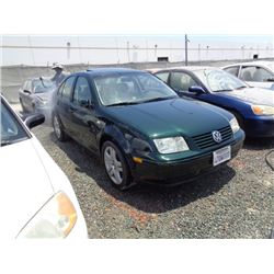 VW JETTA 2001 T-DONATION