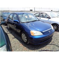 HONDA CIVIC 2002 T-DONATION