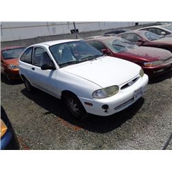 FORD ASPIRE 1997 T-DONATION