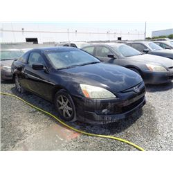 HONDA ACCORD 2003 T-DONATION