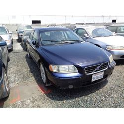 VOLVO S60 2005 APP  DUP/T-DON