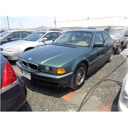 BMW 740I 1997 APP  DUP/T-DON