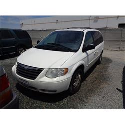CHRYSLER TOWN & COUNTRY 2007 T-DONATION