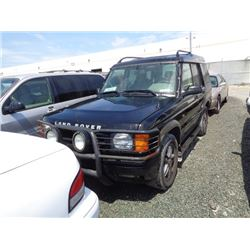 LAND ROVER DISCOVERY 2002 T-DONATION
