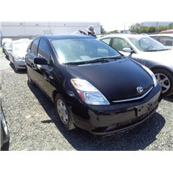 TOYOTA PRIUS 2007 O/S T-DONATION