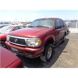 MERCURY MOUNTAINEER 2000 SALV T/DONATION