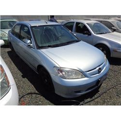 HONDA CIVIC 2005 T-DONATION