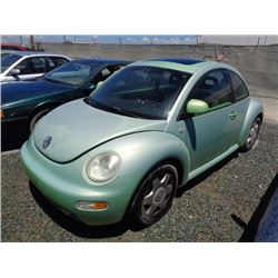 VW NEW BEETLE 1999 T-DONATION