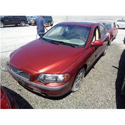 VOLVO S60 2002 O/S T-DONATION