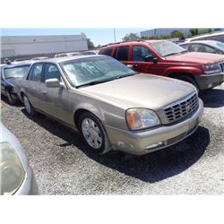 CADILLAC DEVILLE DTS 2000 T-DONATION