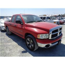DODGE RAM 2004 T-DONATION