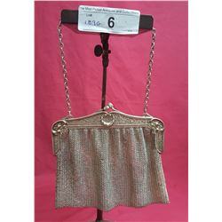Sterling 935 Evening Mesh Bag Heavy Closure w/ Chain