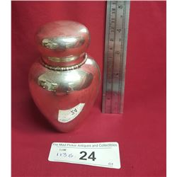 Lidded Sterling Jar by J.E. Caldwell & Company Philadephia