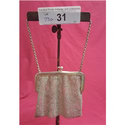 Sterling Mesh Purse & Chain