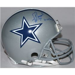 "Jay Novacek Signed LE Cowboys Full-Size Authentic Pro-Line Helmet Inscribed ""3X SB Champs"" (Steiner"