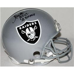 Marcus Allen Signed Raiders Full-Size Authentic Pro-Line Helmet Inscribed  HOF 03    SB XVIII MVP  L