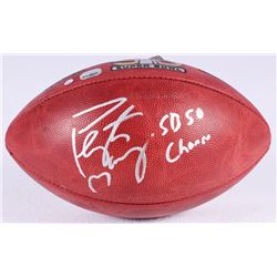 """Peyton Manning Signed Super Bowl 50 NFL Official Game Ball Inscribed """"SB 50 Champs"""" (Steiner COA  Fa"""