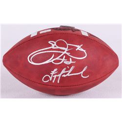Emmitt Smith  Troy Aikman Signed Super Bowl XXVIII NFL Official Game Ball (Smith  Aikman Hologram, R