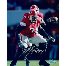 Max Jean-Gilles Signed Georgia 8x10 Photo (Radtke COA)